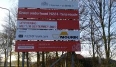 Bouwbord GO N224 Renswoude